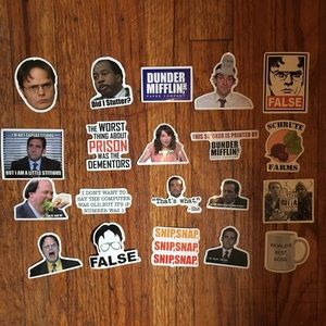 The Office Stickers (20)